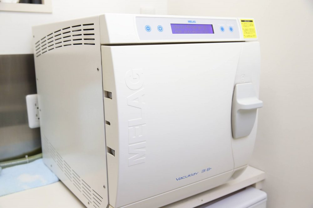 クラスB滅菌機